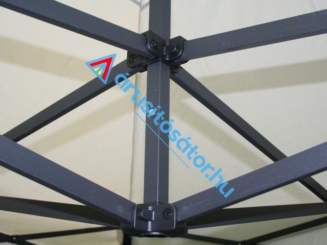 3x3 m erősített vázas  hexa-hatszöglábas kivitel