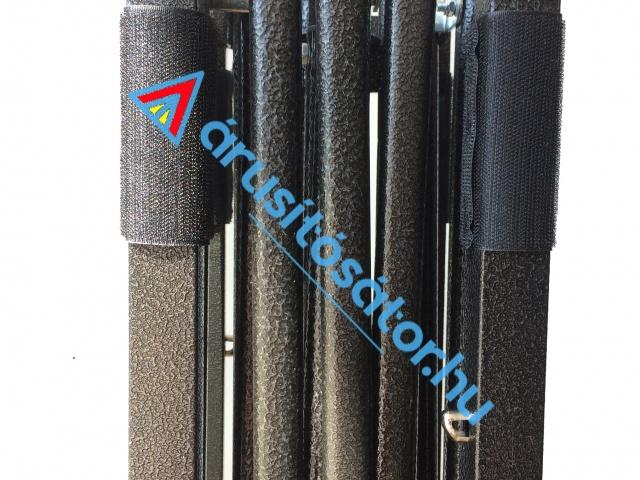 3x3 m könnyű szerkezet+ szövet tető  Typ:C