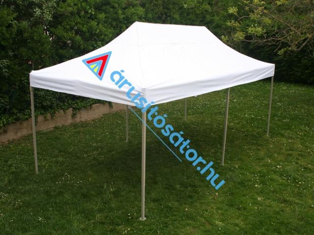 3x6m erősített vázas sátor+ oldalfal szett