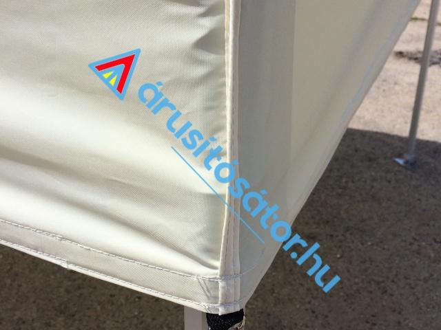 3x3-as hatszöglábas 40-es alumínium váz  + oldalfal szett