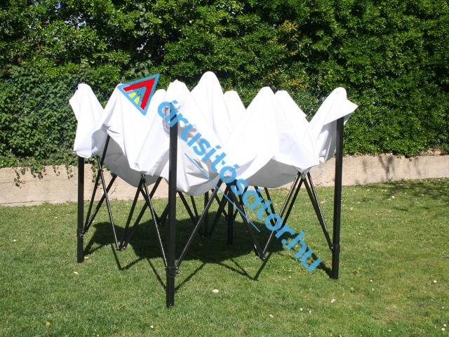 3x3 m erősített váz szerkezettel
